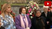 Ռոզա Ծառուկյանը հարգանքի տուրք է մատուցել 30 տարի առաջ Ոսկեպարում զոհված ոստիկանների հիշատ...