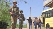 Ռուս խաղաղապահներն ուխտավորներին ուղեկցել են Ամարասի և Գանձասարի վանքեր