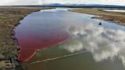 Արտակարգ դեպք Ռուսաստանում․ 20 հազար տոննա նավթամթերքը լցվել է գետը (լուսանկարներ)