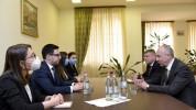 Ռուստամ Բադասյանը Բելառուսի դեսպանի հետ քննարկել է հակակոռուպցիոն պայքարին առնչվող մի շարք...