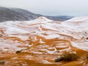 Սահարա անապատում ձյուն է տեղացել (լուսանկարներ)