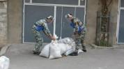 Սակրավորական խմբերն աշխատում են Ստեփանակերտում և քաղաքի հարակից տարածքում. պայթյուններ լսե...
