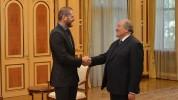 Արմեն Սարգսյանը հյուրընկալել է բրազիլական ջիու-ջիթսուի աշխարհի բազմակի չեմպիոն Ռոջեր Գրեյս...