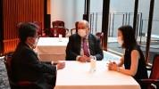 Արմեն Սարգսյանը հանդիպել է Միջազգային համագործակցության ճապոնական բանկի կառավարչի հետ