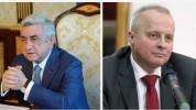«Խնդիրը ռազմական լուծում չունի». Սերժ Սարգսյանը հանդիպել է Հայաստանում ՌԴ արտակարգ և լիազո...