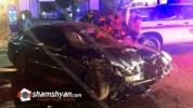 Երեւանում խոշոր ավտովթարի հետեւանքով հիվանդանոց տեղափոխված 4 վիրավորներից մեկը մահացել է