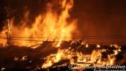 Երևանում 14-հարկանի շենքի տանիքում խոշոր հրդեհ է բռնկվել