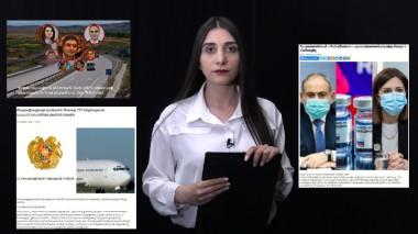 Հայաստանում AstraZeneca պատվաստանյութից մարդ է մահացել, օրենքով գող Պզոյին ձերբակալեցին. Որո՞նք են եղել շաբաթվա ստերը