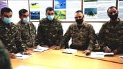 Անցկացվել են հակաօդային պաշտպանության զորքերի և ավիացիայի համատեղ կրակային կառավարման շտաբ...