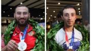 Արթուր Դավթյանին և Սիմոն Մարտիրոսյանին զուռնա–դհոլով դիմավորեցին