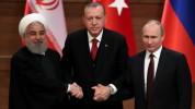 Ռուսաստանի, Թուրքիայի և Իրանի նախագահները Սիրիայի վերաբերյալ համատեղ հայտարարություն են ըն...