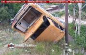 Սյունիքում մեքենան 60 մետր գլորվելով բախվել է էլեկտրասյանը. վարորդը մահացել է