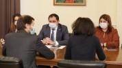 Սուրեն Պապիկյանն ընդունել է Զարգացման ֆրանսիական գործակալության փոխտնօրենին