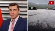 Ուժեղ կարկտահարություն Գորիսում․ Գագիկ Սուրենյանը տեսանյութ է հրապարակել