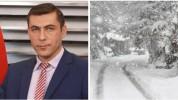 Շիրակում առատ ձյուն է տեղում. Գագիկ Սուրենյան (լուսանկարներ)