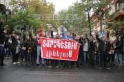 Ուսանողները ծաղրում են ԵՊՀ ռեկտոր Արամ Սիմոնյանին