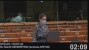 ԵԽ անդամ երկիրը խախտում է մարդու հիմնարար իրավունքներն ու միջազգային իրավունքը. Տաթևիկ Հայ...