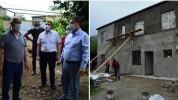 Սահմանապահ Այգեպար և Ներքին Կարմիրաղբյուր գյուղերի հրետակոծված տներից մի մասի վերանորոգում...