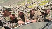 4-րդ զորամիավորման հրամանատարի ղեկավարությամբ զորամասերից մեկի պաշտպանության տեղամասում ան...