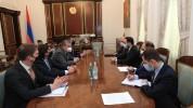 Փոխվարչապետ Տիգրան Ավինյանն ընդունել է «Ռենկո» ընկերության գլխավոր գործադիր տնօրենին