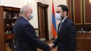 Փոխվարչապետ Տիգրան Ավինյանն ընդունել է Ռուսաստանի դեսպանին