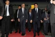 Պաշտոնական այցով Հայաստան է ժամանել Թուրքմենստանի նախագահ Գուրբանգուլի Բերդիմուհամեդովը