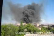 Հրշեջները մարել են անվադողերի գործարանում բռնկված հրդեհը