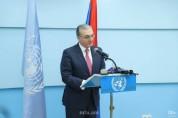 Զոհրաբ Մնացականյանի ելույթը ՄԱԿ-ի Ցեղասպանության զոհերի հիշատակի օրվան նվիրված միջոցառման ...