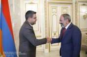 Նիկոլ Փաշինյանն ընդունել է Հայաստանում Սիրիայի դեսպանին