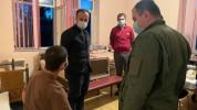 Արսեն Թորոսյանն այցելել է մարզային բժշկական կենտրոններ, որոնք զբաղվում են վիրավոր զինվորակ...