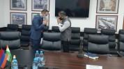 Արսեն Թորոսյանը հանդիպել է Հայաստանում Հնդկաստան դեսպան Կիշան Դան Դեվալի հետ