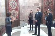 Հայաստանում Ֆրանսիայի դեսպանն այցելել է Սարդարապատի հուշահամալիր