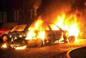 Այնթափում ավտոմեքենա է այրվել