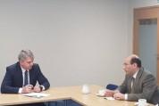 ՀՀ դեսպանը Էստոնիայի պաշտպանության փոխնախարարի հետ խոսել է ԼՂ խնդրի կարգավորման ջանքերից