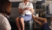 Հարբած գործարար կինը ոտք է գցել բորտուղեկցորդոհուն՝ ալկոհոլ չտալու համար