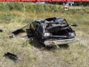 Խոշոր ավտովթար Ծովագյուղում. 27–ամյա վարորդը BMW-ով գլխիվայր շրջվելով՝ հայտնվել է դաշտում....