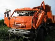 Հարթաշեն-Խնձորեսկ ավտոճանապարհին բեռնատարը դուրս է եկել երթևեկելի հատվածից և հայտնվել դաշտ...