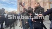 13:45 -ից Գյումրիի հրապարակից ավտոերթով շարժվում են Երևան. Վահագն Ալեքսանյան