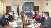 ՀՀ էկոնոմիկայի նախարարն ու ԵՄ պատվիրակության ղեկավարը քննարկել են համագործակցության հետագա...