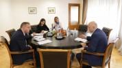Վահան Քերոբյանը և Դմիտրի Գվինդաձեն քննարկել են գործակցության հնարավորությունները