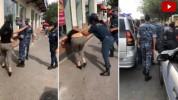 Ոստիկանները մոտեցել են կնոջը ու խնդրել դիմակ դնել․ կինը հարձակվել է ոստիկանների վրա և հայհ...