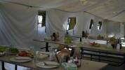 5-րդ զորամիավորման զորամասերից մեկում բացազատվել են վրանային ճաշարաններ (լուսանկարներ)