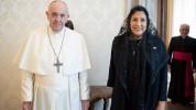 Վրաստանի նախագահը Հռոմի Ֆրանցիսկոս պապի հետ խոսել է ԼՂ հակամարտությունից