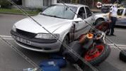 Վանաձորում բախվել են Opel-ն ու մոտոցիկլը, վերջինս կողաշրջվել է․ մոտոցիկլավարը տեղափոխվել է...
