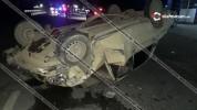 Արմավիրի մարզում 71-ամյա վարորդը 06-ով բախվել է Kia-ին և գլխիվայր շրջվելով, բախվել Mercede...