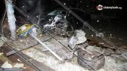 Նալբանդյան-Մոսկովյան խաչմերուկում «BMW»-ն բախվել է լուսացույցին, կոտրել հեռախոսային ապարատ...