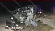 Խոշոր ավտովթար Արագածոտնի մարզում. բախվել են Land Rover-ն ու ԶԻԼ-130-ը. կան վիրավորներ