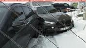 Ծաղկաձորում՝ ճոպանուղու կայանատեղիում, մերկասառույցի պատճառով բախվել են Porsche Cayenne-ը,...