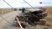 Շիրակի մարզում բախվել են BMW-ն, Volkswagen Passat-ն ու ВАЗ 2107-ը. կան վիրավորներ