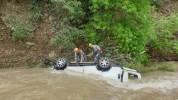 Ստեփանակերտ-Ասկերան ճանապարհին «Honda CR-V» մակնիշի ավտոմեքենան գլորվել է ձորը, հայտնվել գ...